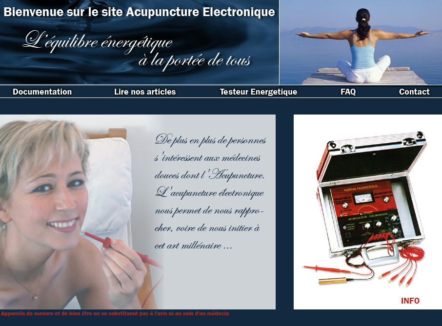 acupuncture electronique